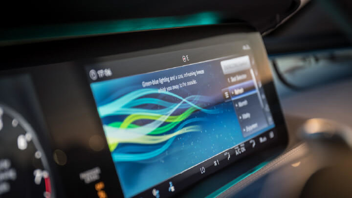 Mercedes-Benz S-Class Interior Technology