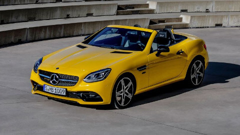 Mercedes-Benz SLC Exterior, Yellow