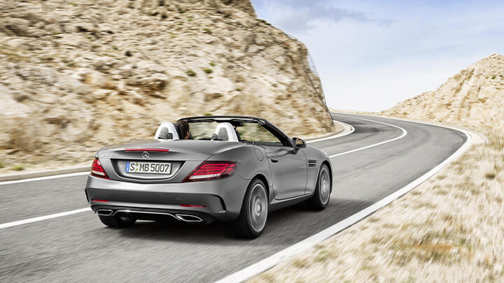 Mercedes-Benz SLC Exterior, Rear