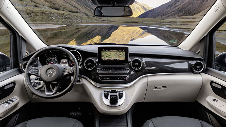 Mercedes-Benz V-Class Cabin