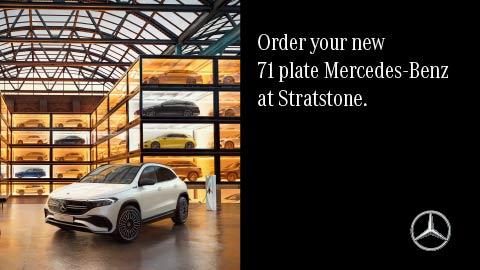 Mercedes-Benz 71 Plate
