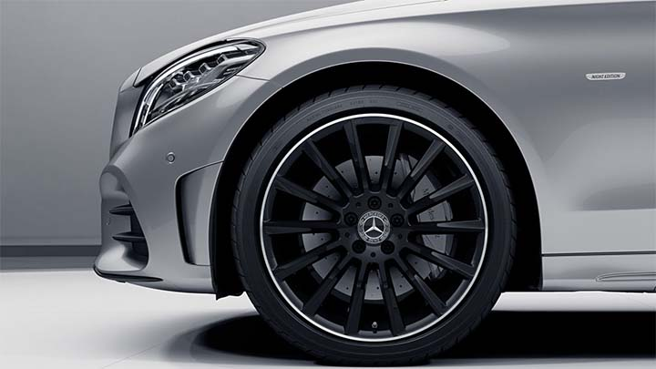mercedes-benz alloy wheel