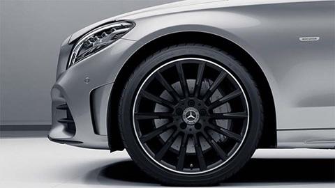 mercedes-benz alloy wheel