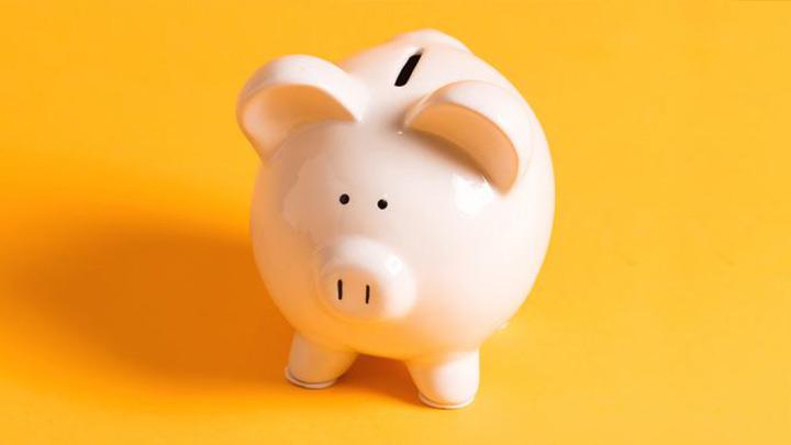 mini piggy bank