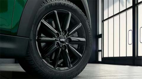 mini alloy wheel and tyre