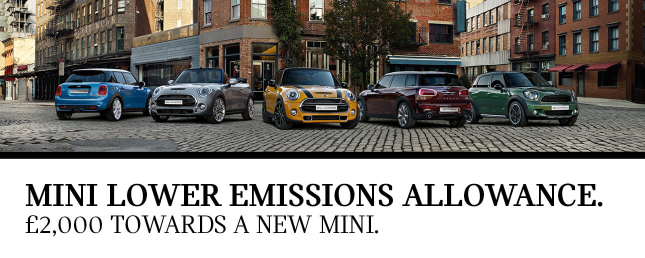 MINI Lower Emissions Allowance