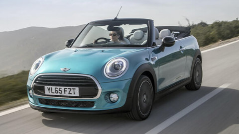 MINI Convertible Driving