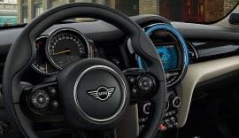 MINI Cooper interiors.