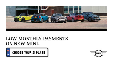 Low Monthly Payments on New MINI