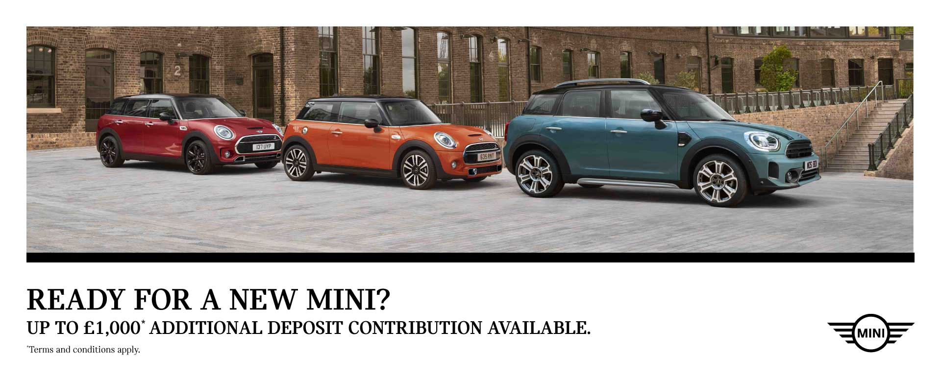 Ready for a New MINI