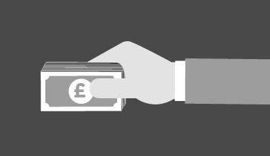 Money exchange logo