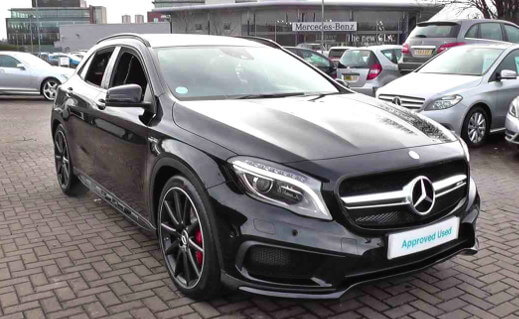 approved used mercedes-benz a-class