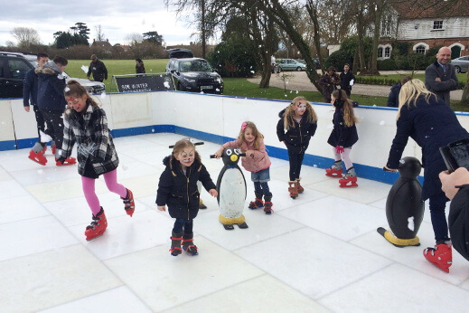 stratstone land rover woodford ice rink