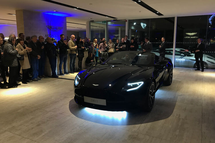 new aston martin db11 v8 volante
