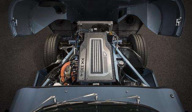 jaguar electric e-type engine