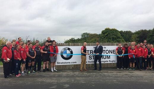 bmw harrogate sponsors harrogate rugby union football club