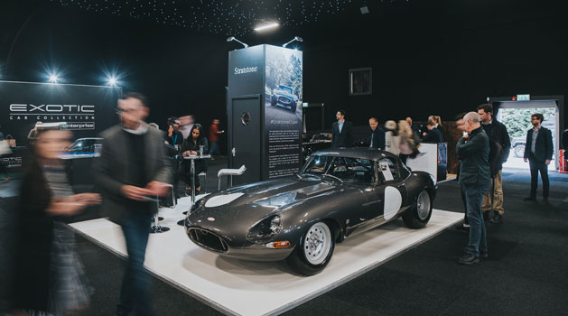e-type at london motor show