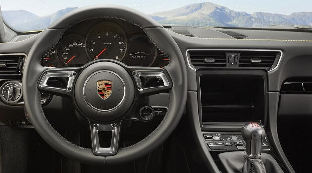 porsche 911 carrera steering wheel