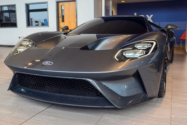 ford gt second generation