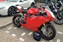 ducati at car cafe nottingham