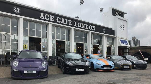 car cafe london