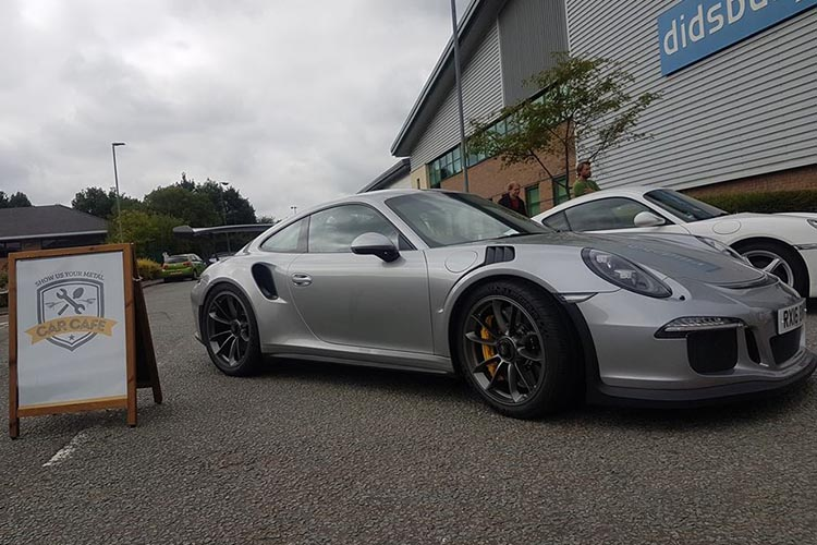 Porsche 991 GT3 RS at Car Cafe