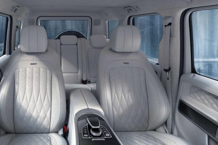 new mercedes-benz g-wagon interior