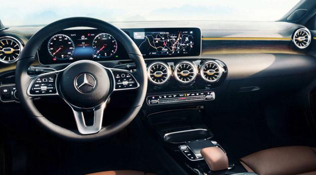 mercedes-benz a class interior