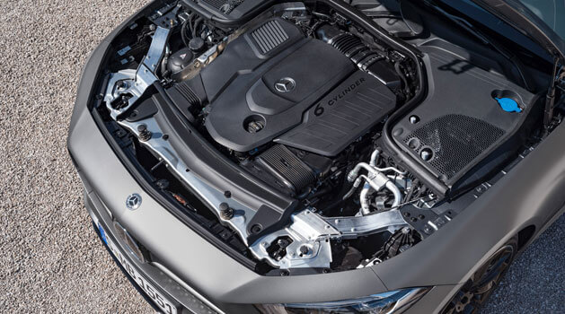 mercedes-benz cls engine