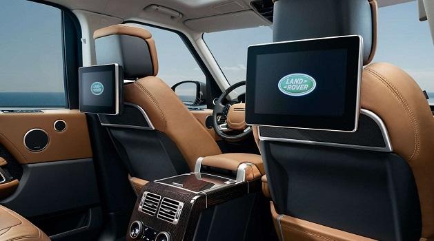 new range rover interior