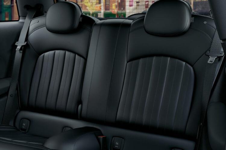 new mini hatch interior