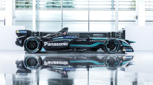 jaguar formula e racing car