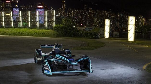 jaguar formula electric car
