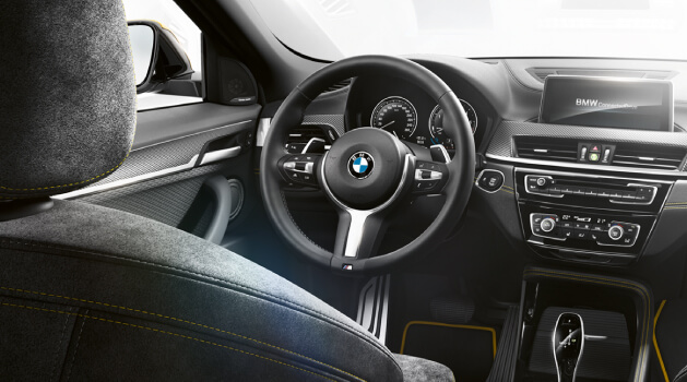new bmw x2 interior