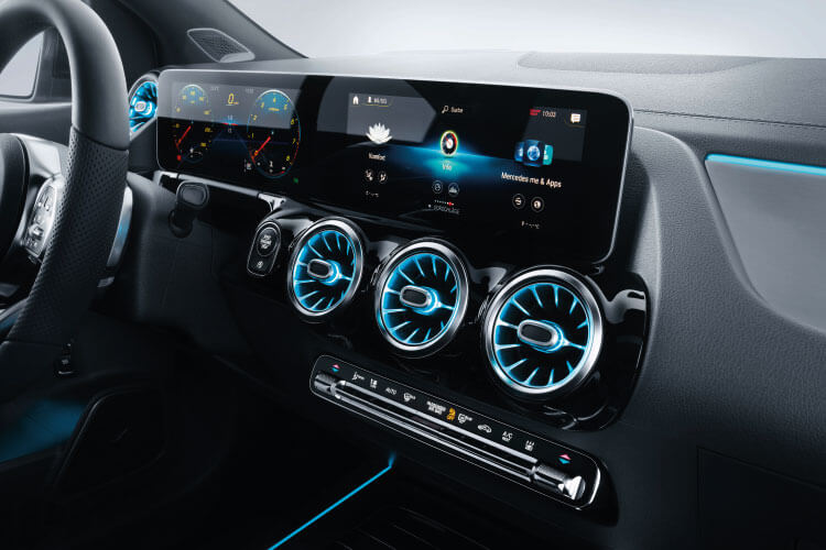 mercedes-benz b-class dashboard
