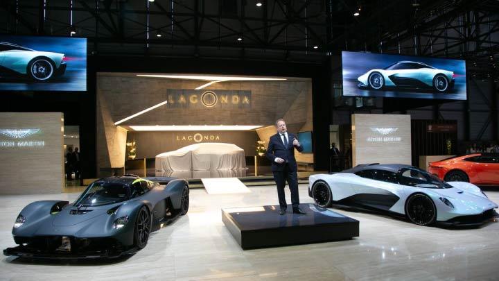 Aston Marton Geneva Motor show 2019