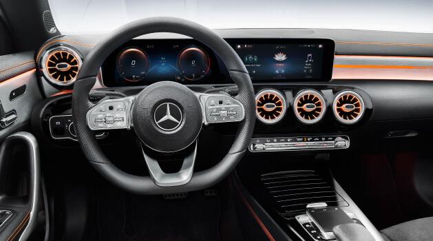 mercedes-benz cla coupe steering wheel