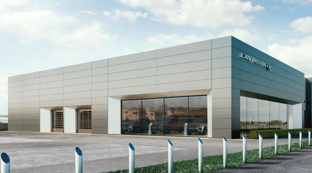 jaguar land rover nottingham