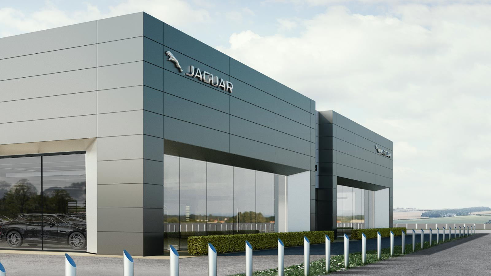 Jaguar Land Rover Arch Site Stockton