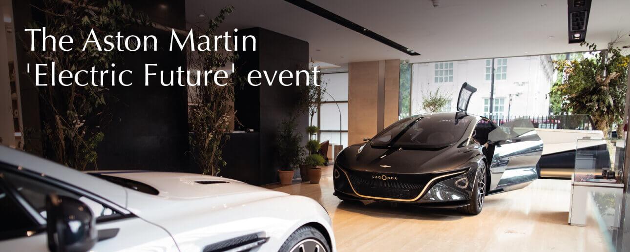 aston martin electric cars