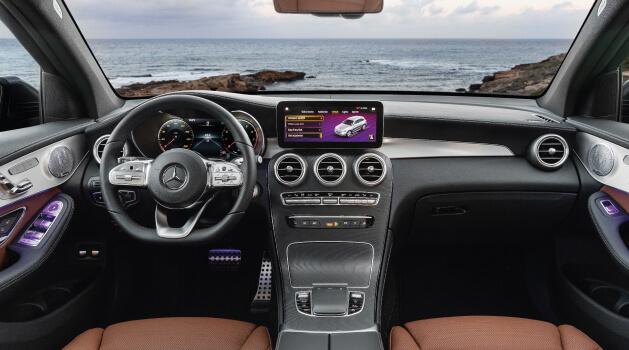 new mercedes-benz glc interior