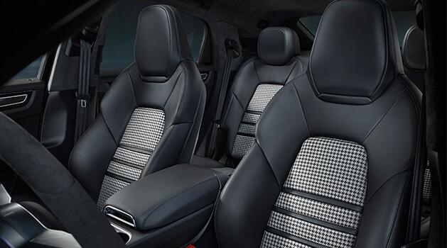porsche cayenne coupe seats