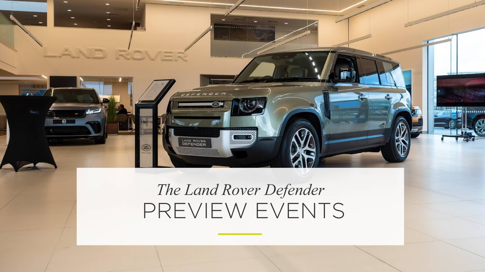 New Land Rover Defender Newcastle