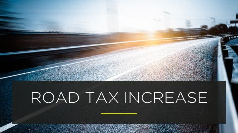 UK road tax changes