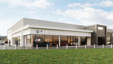 BMW MINI Derby Artists Impression