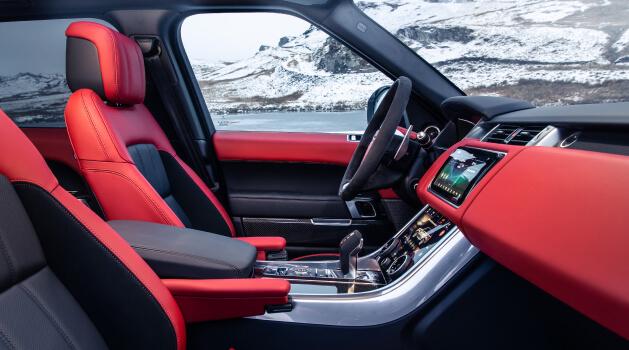 range rover sport hst edition interior