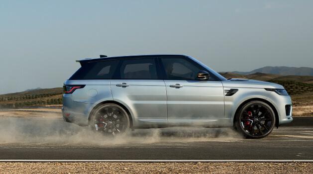 range rover sport hst edition