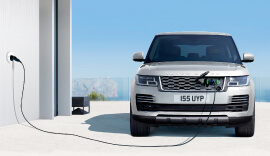 land-rover electric