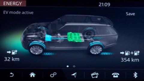 Land Rover EV Mode