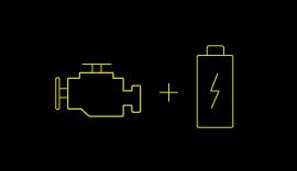Hybrid Electric Vehicles symbol.